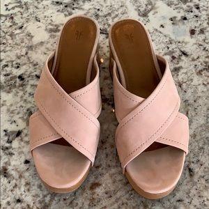 Frye Wooden Sandals